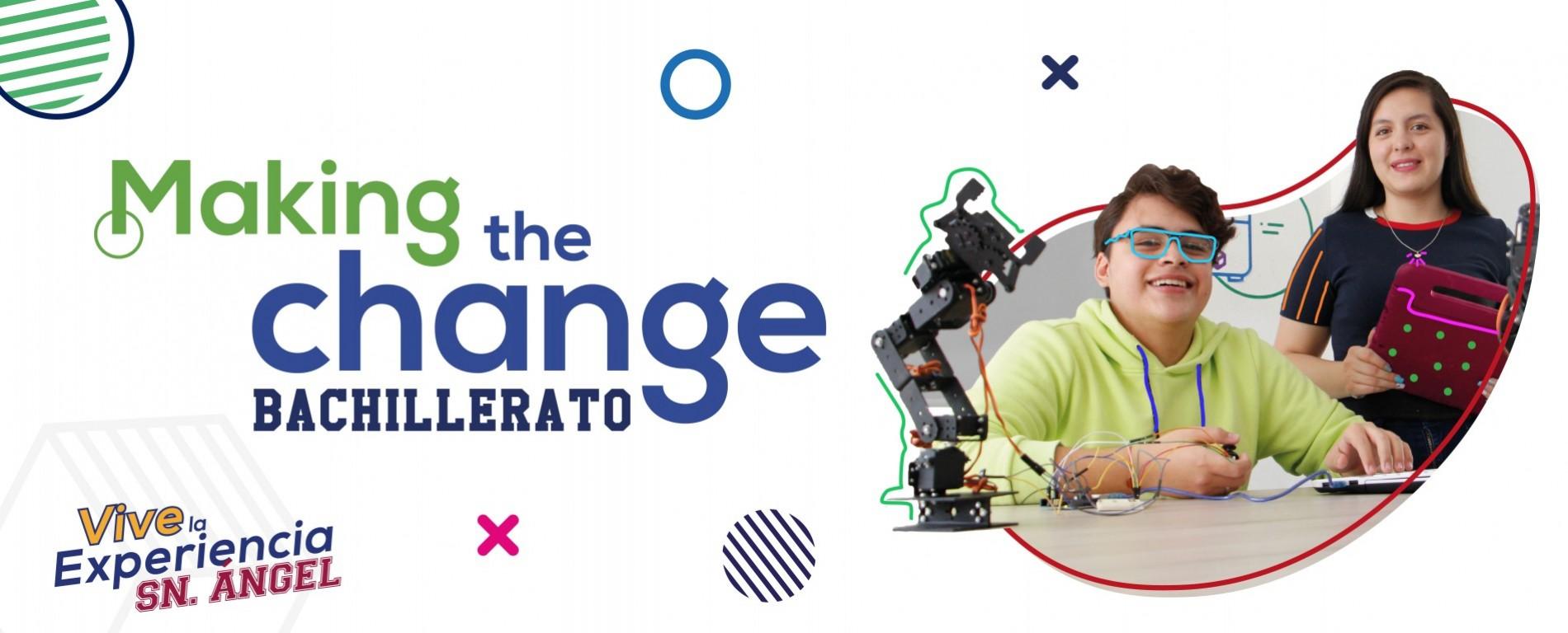 Making the change - Bachillerato